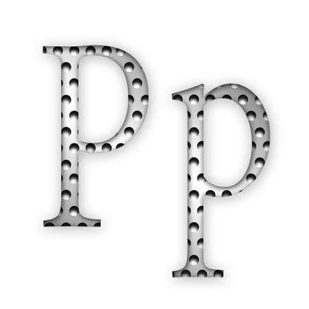 Letter - P photo