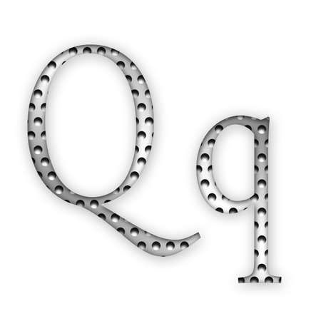 Letter - Q photo