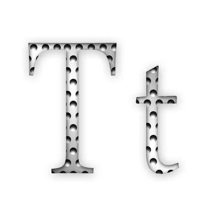 Letter - T photo