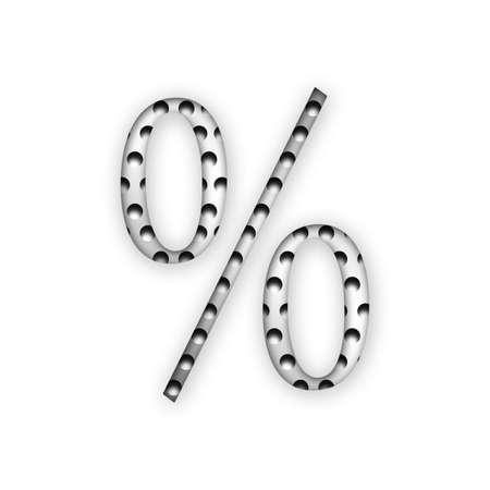 Letter - Percent photo