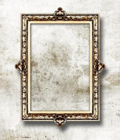 spiegelbeeld: antieke fotolijst