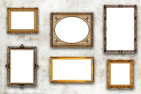 antique picture frame photo