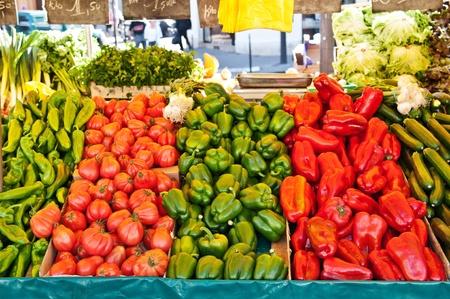 market stall photo