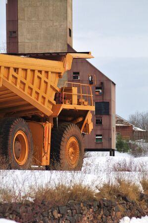 camion volquete: Miner�a Cami�n Volcado Para ir de eje