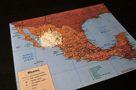 exported: Cocaine Exported From Mexico