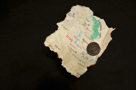 iraq money: Land Mines Left Behind