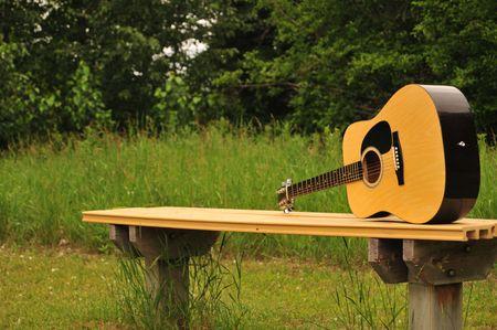 Guitar Bench Guitar photo
