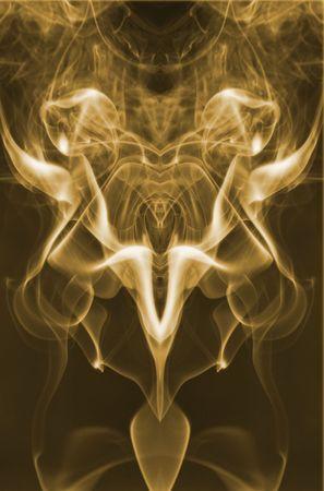 ocultismo: Humo  Foto de archivo