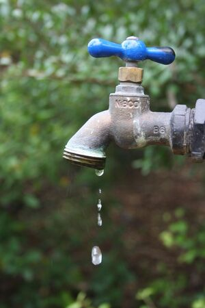 Dripping faucet Reklamní fotografie