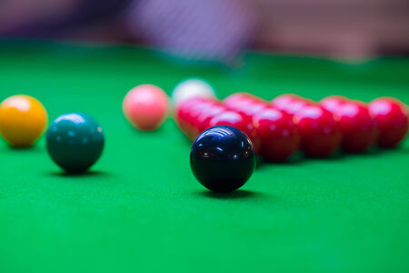 Snooker Table 6 colors photo