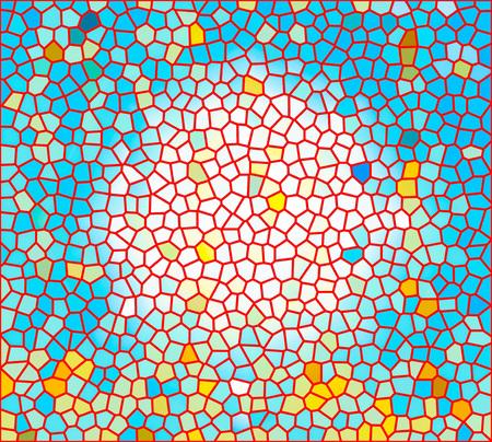 bri: Multi colored stained glass