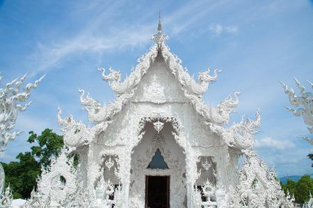Wat Rong Khun,Chiangrai, ThailandThe beautiful photo