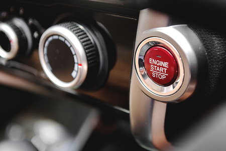 button: Push Start and Stop,Button to start the car