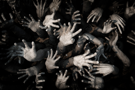 hand ghost ,zombie Bloody hands background,maniac,Blood zombie hands, zombie theme, halloween theme