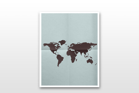 precise: World map