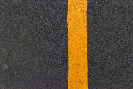 yellow line: asphalt texture with yellow line
