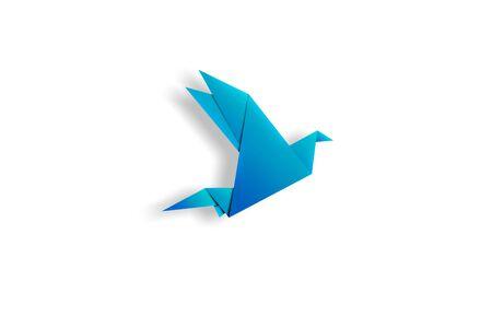 uccello origami: origami bird