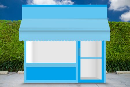 Front of retail store