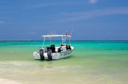 Fishing Boat near Cancun Mexico