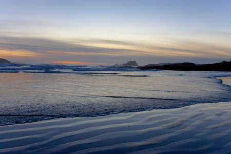 View of Pacific on Vancouver Island