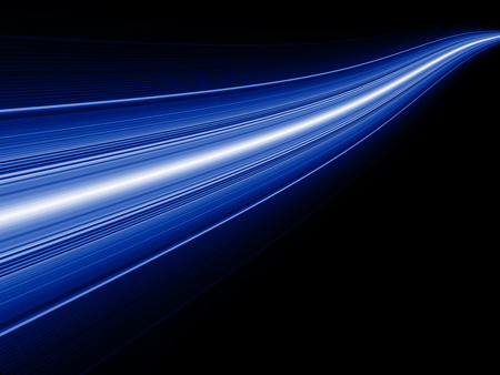 Abstract light background, beautiful lines and blur