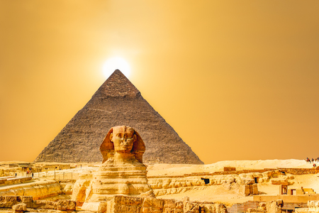 Travel background. Architectural monument. The tombs of the pharaohs. Vacation holidays background wallpaper