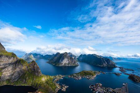 un archipiélago en el condado de Nordland, Noruega.