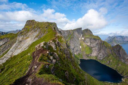 ein Archipel in der Grafschaft Nordland, Norwegen.