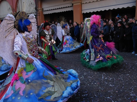 Carnival in Italy in the town of Cento Editorial