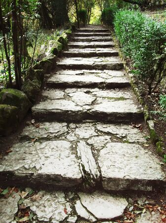Old ancient stone stairs Stock Photo - 12989359