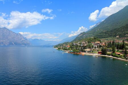 lake Garda in Italy photo