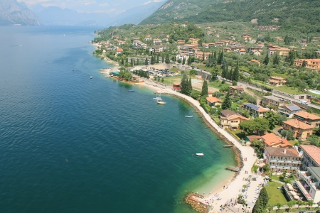 mantain  Lake Garda in Italy