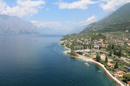 mantain  Lake Garda in Italy photo