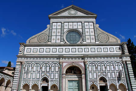 Church of Santa Maria Novella in Florence, Italy photo