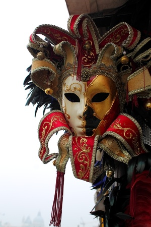 mardi: Venetian mask  Stock Photo