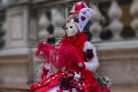 romantic mask for the Venice Carnival