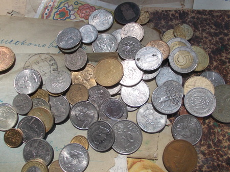 Collection of coins 新聞圖片