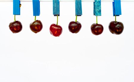 stretched: cherries stretched