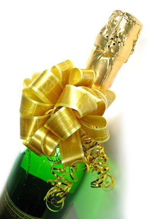 dispense: not one holiday does not dispense with champaign Stock Photo