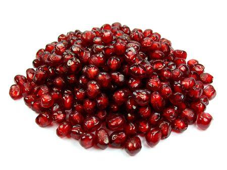 pomegranat: Garnet very healthy and rich vitamin fruit Stock Photo