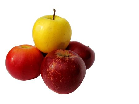 widespread: Apple very wide-spread fruit with beautiful taste and many vitamins Stock Photo