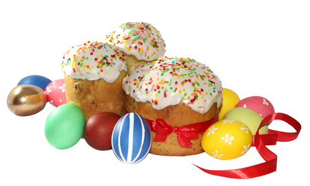 end of a long day: Easter foods are primarily those of Easter Sunday, the day on which Jesus rose from the dead, a day of special rejoicing for Christians, who rejoice too at reaching the end of the long Lenten fast. Easter breads, cakes, and biscuits are a major category o