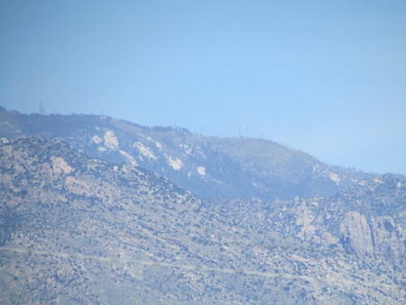zoomed: Arizona Mountains zoomed out