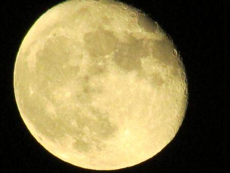 Post Eclipse Moon Stock fotó