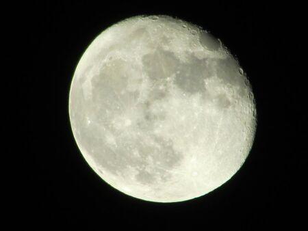 evening moon 版權商用圖片