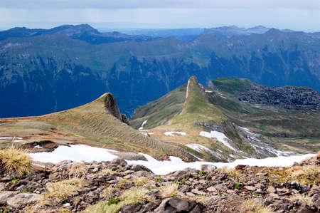 strange mountain: Strange mountain tips along the Faulhorn