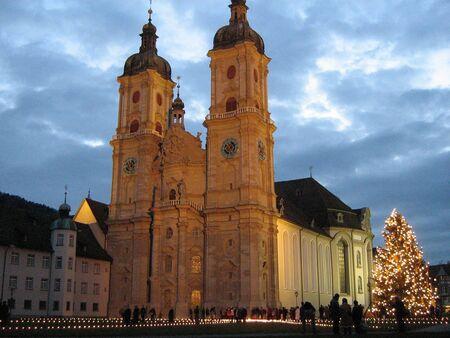 st gallen: Kathedrale - St. Gallen, Switzerland