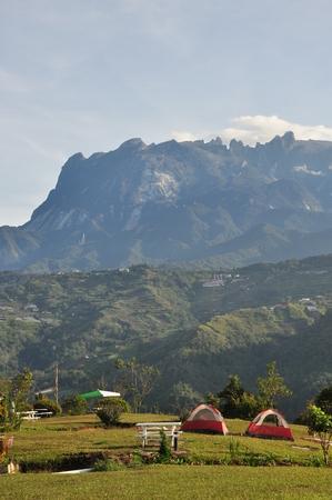 campsite: mountain view campsite