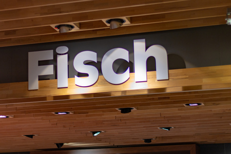 ST. BLASIEN, GERMANY - JULY 21 2018: Supermarket Sign with the text fisch