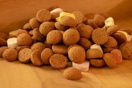 Dutch kruidnootjes for the Sinterklaas celebration